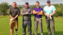 DSM building envelope contractor & Dibsa 2017 golf tournament in Yorkshire