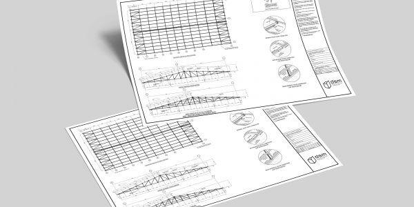 design mockups from DSM Ltd building envelope contractor in Yorkshire