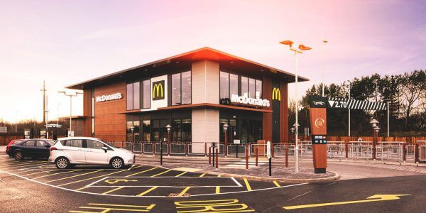 McDonalds building that DSM Ltd in Yorkshire were contracted to envelope